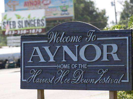 aynor home of the Harvest Hoe Down Festival